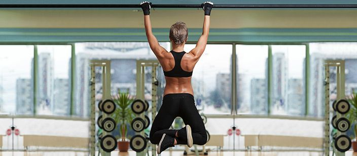 Train Yourself to Do a Pull-Up! 5 Exercises Any Woman Can Use