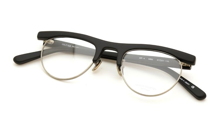 OLIVER PEOPLES [OP-4 MBK] | archive collection | PonMegane