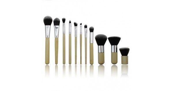 Σετ 11 Επαγγελματικών Πινέλων Μακιγιάζ - Make Up Σκιά - Ρούζ- Concealer - FoundationΧαρακτηριστικά:Ιδανικά Για Το Καθημερινό Μακιγιάζ.Cruelty Free, Μαλακές Ίνες Υψηλής Ποιότητας.Φυσικά και Ανακυκλώμενα Υλικά. Κατάλληλα για επαγγελματική χρήση ή χρήση στο σπίτι.Λαβή: ΞύλοΥψηλής ποιότητας συνθετ