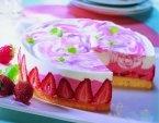 Erdbeer Sekt Torte