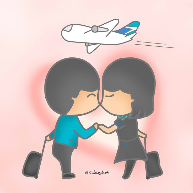 Love is in the air. Happy Valentines Day!  #cartoon