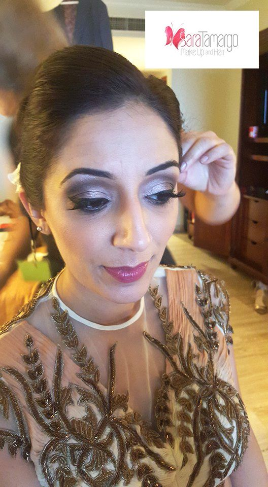 makeup for indian weddings in riviera maya and hair