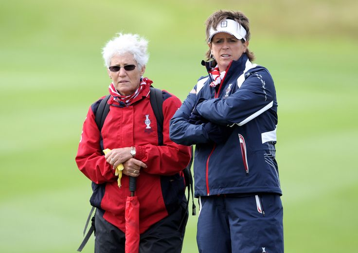 Patty Sheehan & Rosie Jones - Solheim Cup 2011- Previews #SC13 #GoUSA