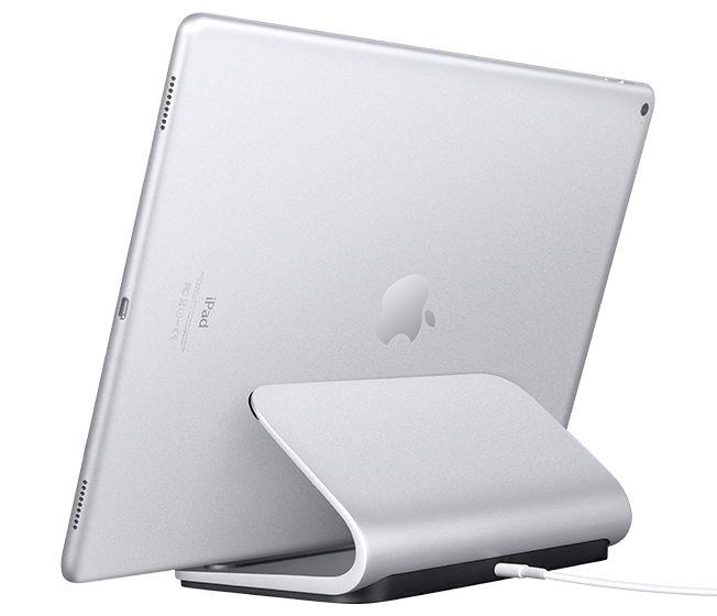 Suporte de carregamento Logitech Base para iPad Pro com Smart Connector
