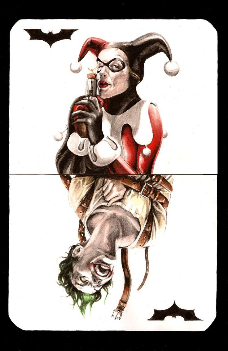 Harley Quinn & Joker Card