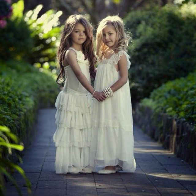would love to get a picture of emily and payton looking adorable as little bohemian flower girls