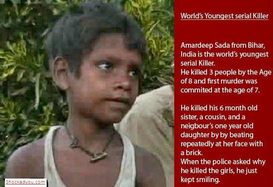 youngest serial killer india serial killers pinterest