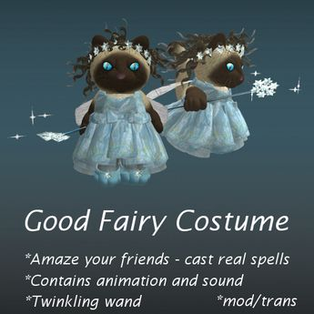 Good fairy costume for tinies (boxed)
