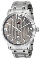 Tommy Hilfiger Men's 1710345 Analog Display Quartz Silver Watch