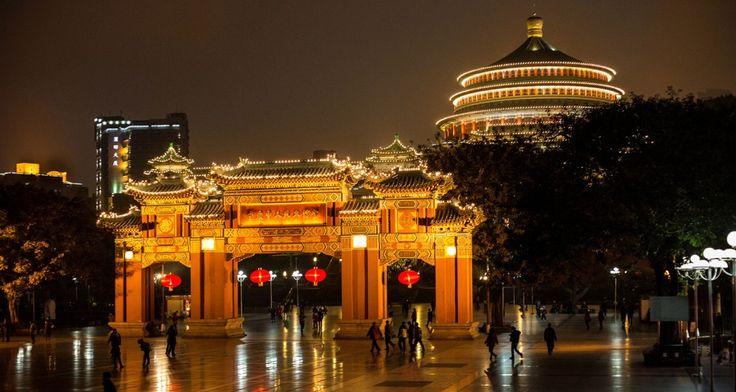 China: Die schönsten Städte bei Nacht - Chongqing   © CC Lauri Va?in via Flickr