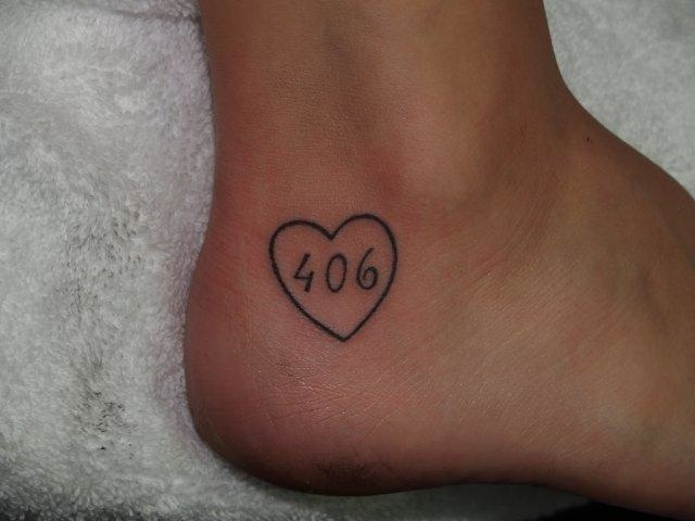 If I ever do get my chance to live in Montana, I will hopefully get this tattoo one day, or something similar. Love it