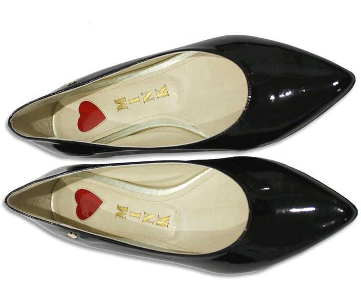 Mink vegan patent flats...made in Italy in the same atelier as Chanel, Louboutin, and Jimmy Choo shoes.