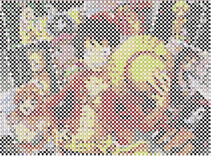 One Piece right angle stitch