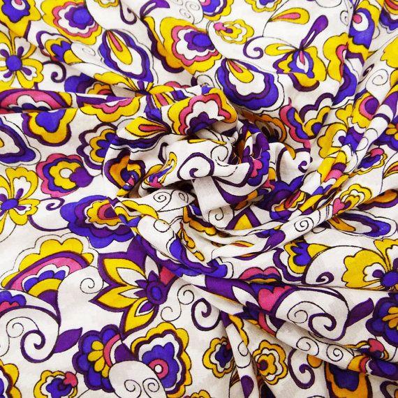 Decorative Dressmaking Cotton Fabric For Sewing Designer
