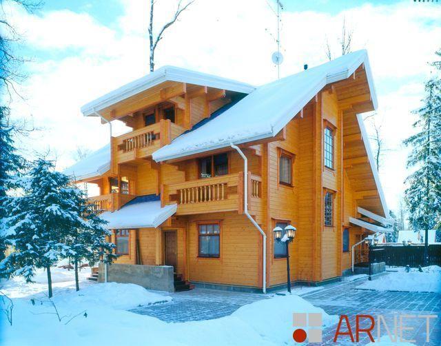В гости к Морозко, дом 400 кв.м.