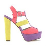 Betts 'MAX' platform heel is the cutest cotton candy colours!