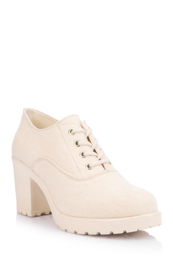 DeFacto Marka Yüksek Topuk Bağcıklı Ayakkabı || Yüksek topuklu bağcıklı modeliyle şık ve trend bir görünüm sunan, rahat kalıbı ile tercih edeceğiniz DeFacto bayan ayakkabı                        http://www.1001stil.com/urun/4722952/yuksek-topuk-bagcikli-ayakkabi.html?utm_campaign=DeFacto&utm_source=pinterest