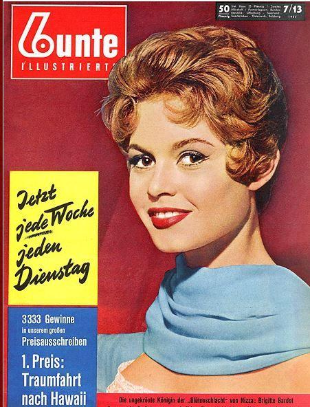 1957: Brigitte Bardot