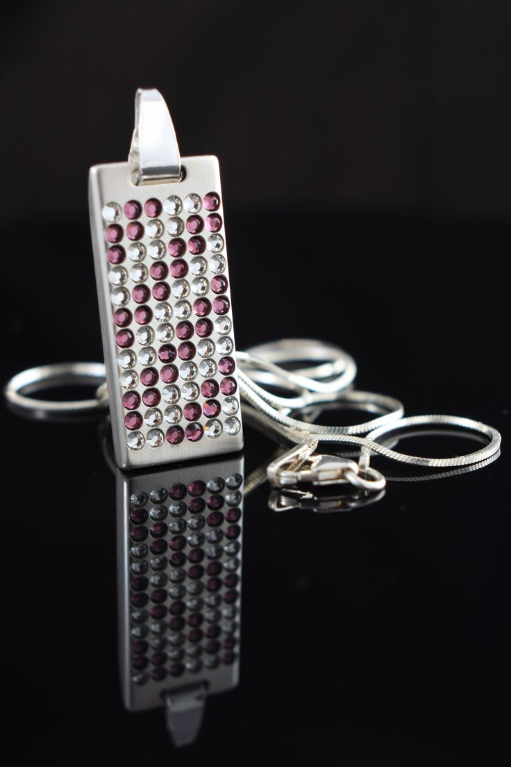 Personalized usb Swarovski usb flash drive   8~64GB   Handmade   Sterling Silver, Swarovski crystals   FREE engraving great for Gift Idea, Birthday Gift, Promotional usb, Custom usb drives for photographers or any special occasion by ZaNaDesignEtsy on Etsy