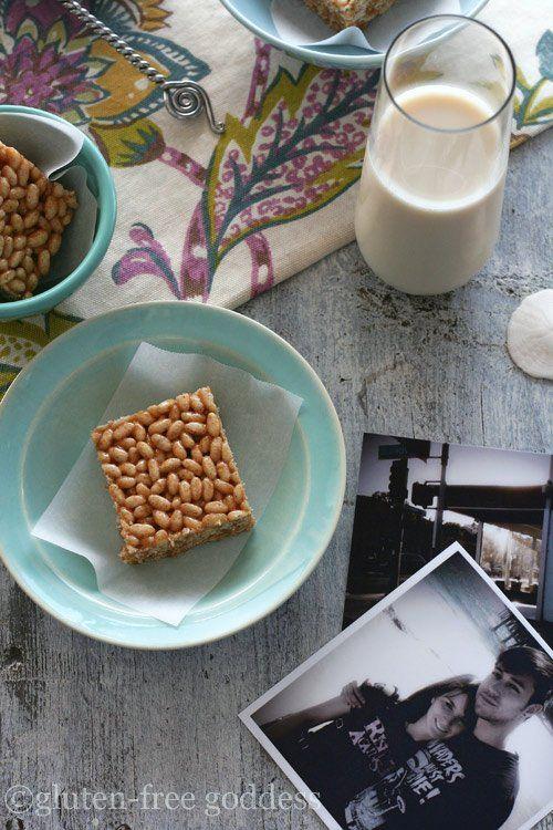 Gluten-Free Rice Crispy Treats |Gluten-Free Goddess® Recipes