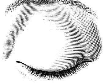 L'occhio umano Vecchio Atlante medico di mapsandposters su Etsy