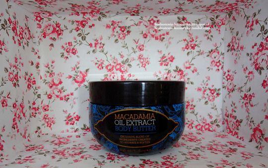 Hodnotenia kozmetiky: Macadamia Oil Extract *telové maslo*