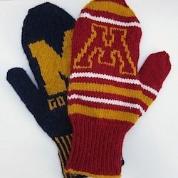 Support your favorite team with a pair of Go Team Mittens. Easily customizable with your team's logo.
