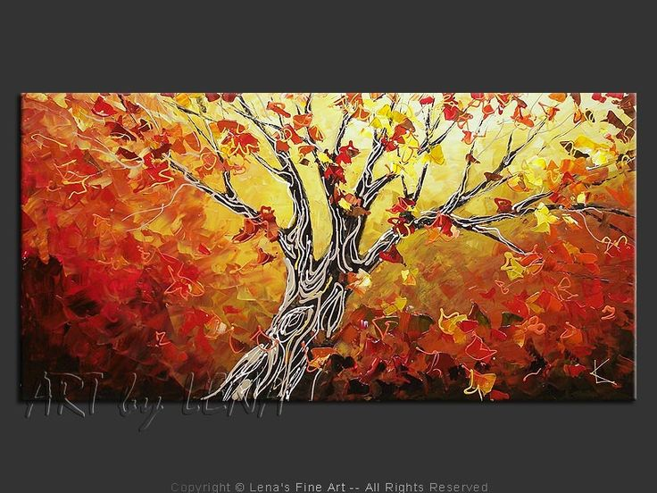 17 Best Images About Tree Paintings On Pinterest Trees