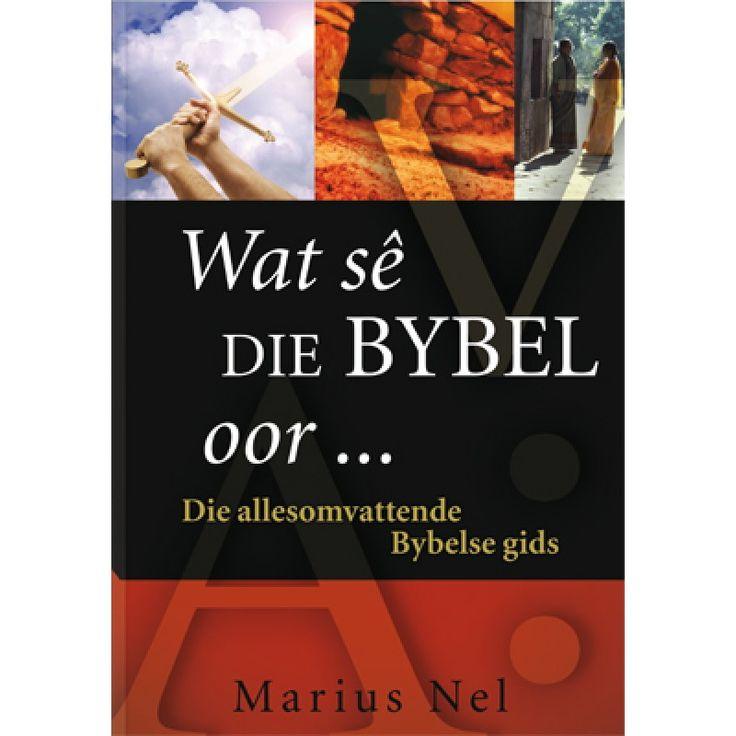 Wat Se Die Bybel Oor (Hardeband)
