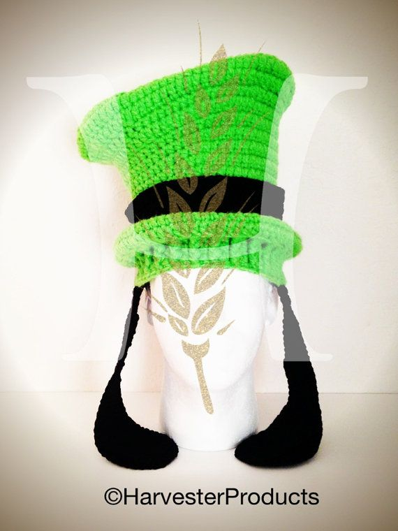 Disney Goofy styled Crochet Hat by HarvesterProducts on Etsy