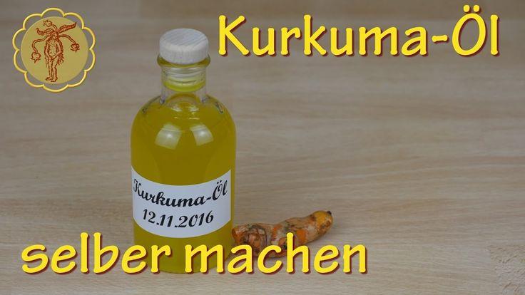 Kurkuma-Öl selber machen - gegen Schuppenflechte und Wunden