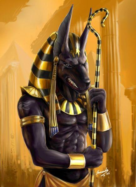 anubis | Deuses Egípcios- Anúbis