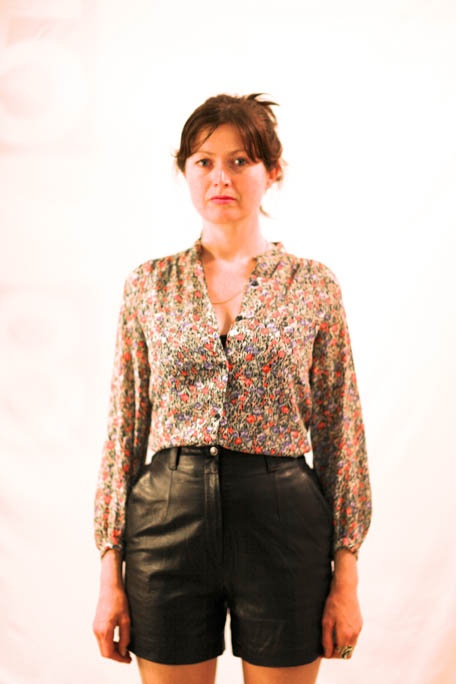 Pretty floral blouse @ $38.00 !!!! Browse http://www.shappere.com.au/  for more collection of Vintage Clothes