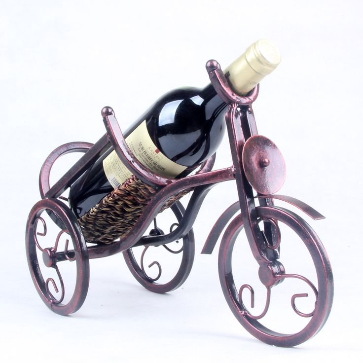 Металл толстой проволоки трехколесный велосипед винный шкаф Вина кадр ресторан украшен свадебные принадлежности кованого железа ремесел, металлические изделия, вино