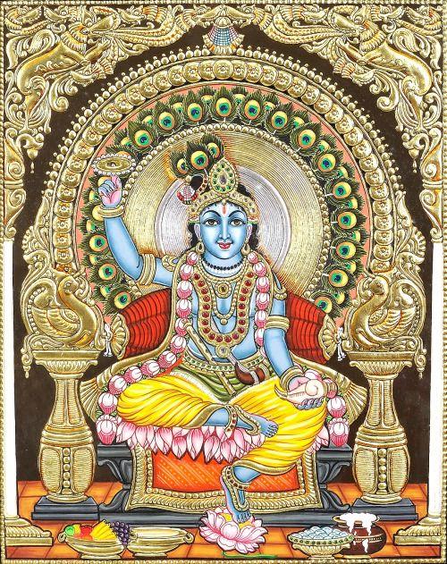 arjuna-vallabha:Krishna