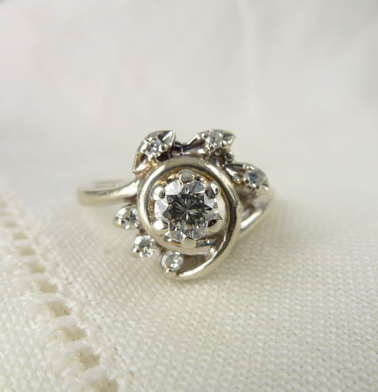 White Gold  Carat Diamond Engagement Ring