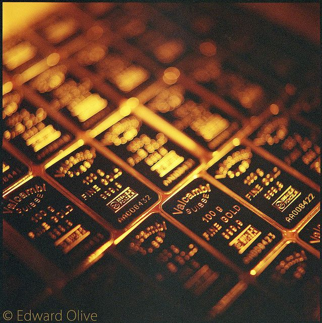 Hasselblad - Valcambi gold bars Example of artistic still life of gold, silver, platinum & palladium photos by Edward Olive photographer / Precious Metals Insights | Flickr - Photo Sharing!