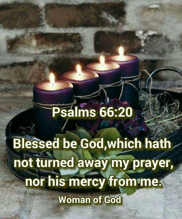 Psalms 66:20 KJV