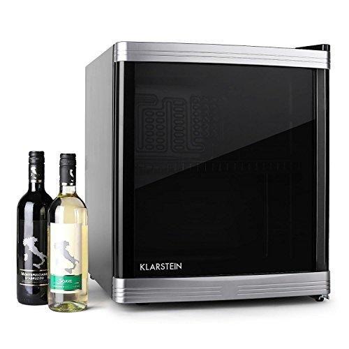 Oferta: 172.99€ Dto: -42%. Comprar Ofertas de Klarstein Beerlocker mininevera de clase energética B (46 L, vinoteca, nevera de vinos y cervezas, baldas extraíbles, capacid barato. ¡Mira las ofertas!