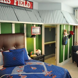 Baseball Bedroom Design Pictures Remodel Decor And Ideas