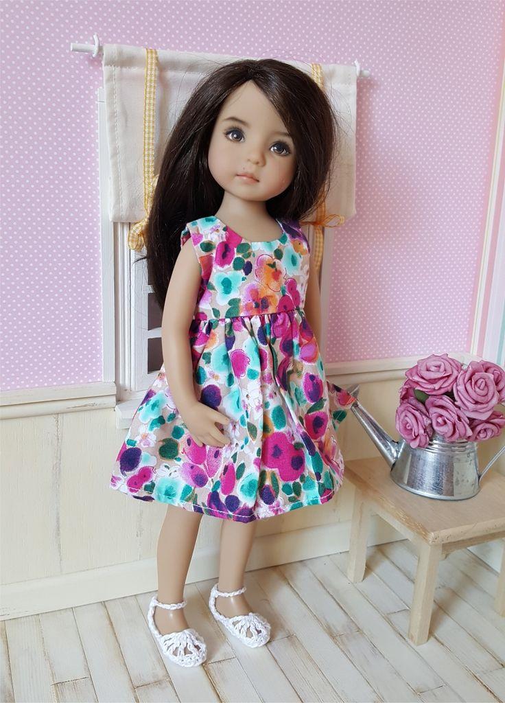 Paire de chaussures blanches au crochet pour poupée Little Darling : Jeux, jouets par atelier-crochet