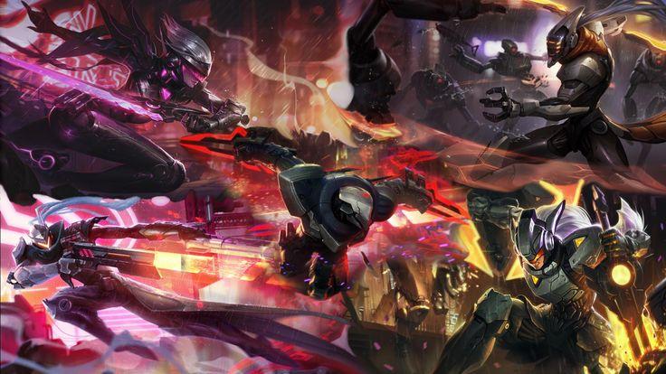 League Of Legends Project Zed Wallpaper Full Hd ~ Jllsly
