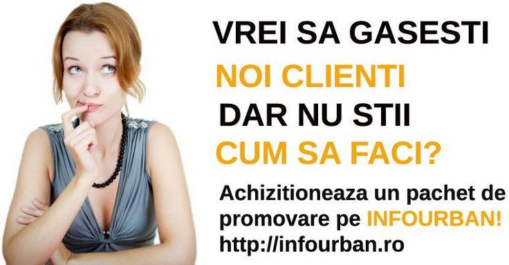 Mai multa vizibilitate, mai multi clienti! Alatura-te firmelor care au ales sa fie gasite in Google  prin intermediul InfoUrban! http://infourban.ro/adauga-firma/