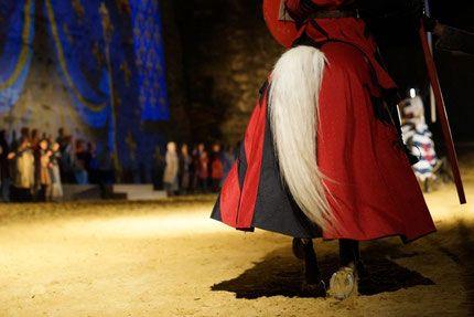 Spectacle equestre,tournoi de chevalerie, voltige cosaque,animation à la carte - compagnie equestre capalle, où le cheval est roi, spectacles equestres en Vendée, 85, avec Eddy et Charline