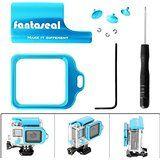 Cheap Fantaseal 5-in-1 Stylish Aluminum MOD kit for GoPro Housing GoPro Case GoPro Replacementfor Skeleton Housing w... sale