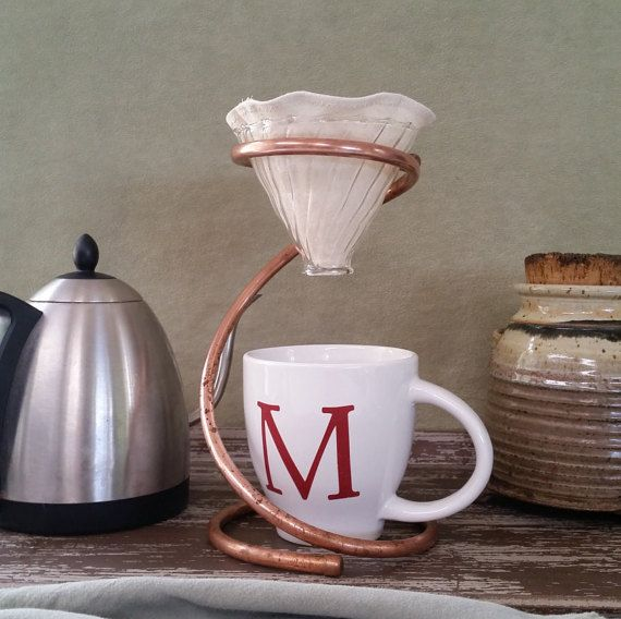Coffee Drip Gift Set (includes: FREE 8 oz General Jym's Tarrazu', Major Myk's Coffee Drip Stand, Reusable Filter & Eco Coffee Glass Dripper)