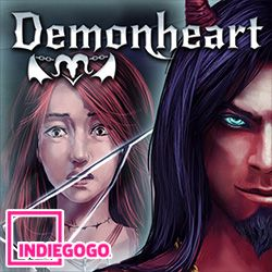 Demonheart English visual novel / choose your own adventure game on Indiegogo https://www.indiegogo.com/projects/demonheart-a-different-visual-novel--3/x/14324196#/