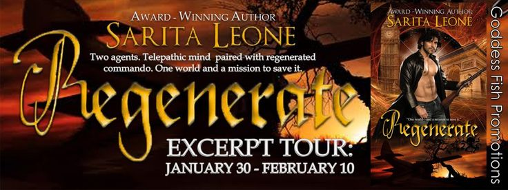 Regenerate by Sarita Leone GENRE: Paranormal Romantic Suspense Amazon The Octopus isn't an urban myth—and its agents are anything but ordinary. The intelligence bureau is so well-hidden most …