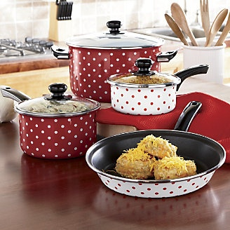 1000 Images About Red And White Polka Dot Kitchen On