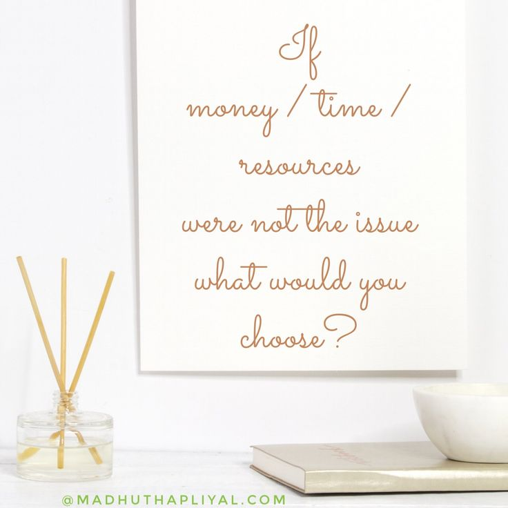 Money, time and resources are the 3 main 'reasons and justifications' we use to limit ourselves, our actions & our businesses dynamically.  Instead of deciding something is impossible, what questions can you ask, that would gather more information & more awareness of the possibilities for you, your business and the world.